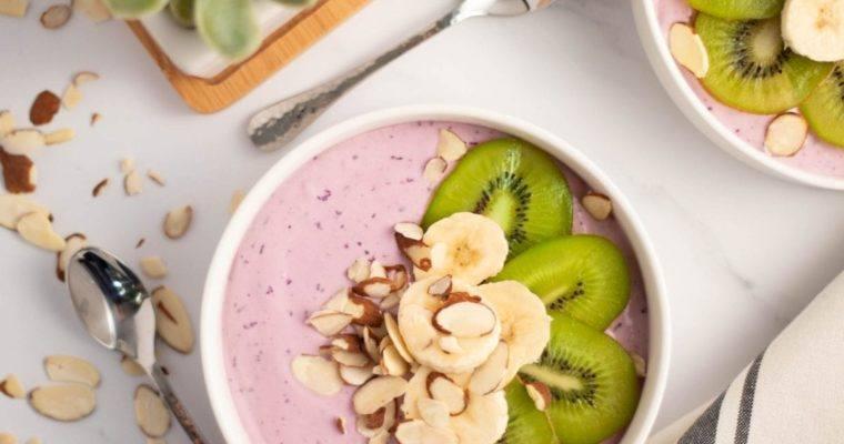 Kiwi Banana Yogurt Bowl