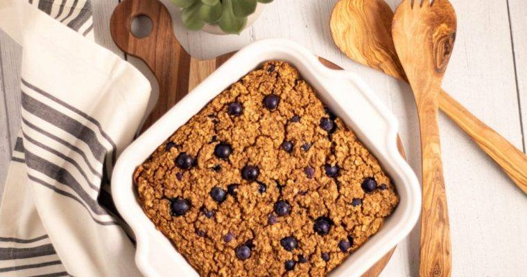 Blueberry Quinoa Protein Bars