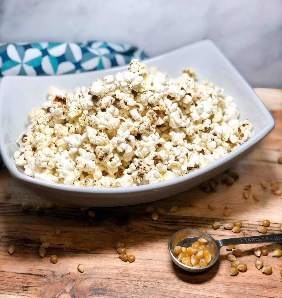 Simple Seasoned Popcorn