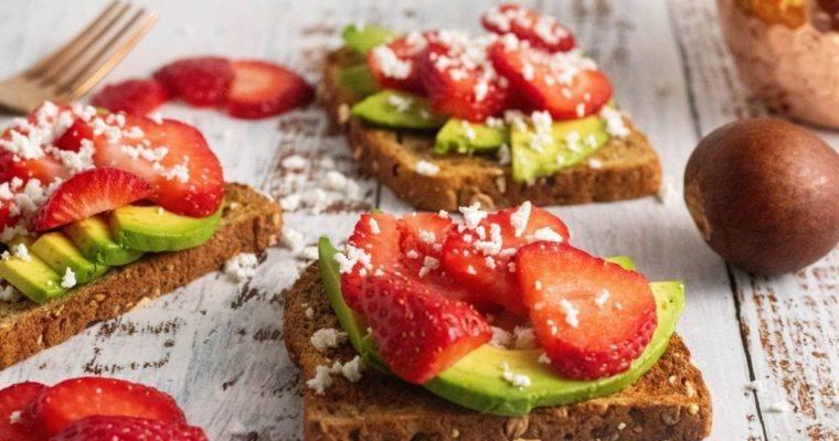 Strawberry Avocado Toast