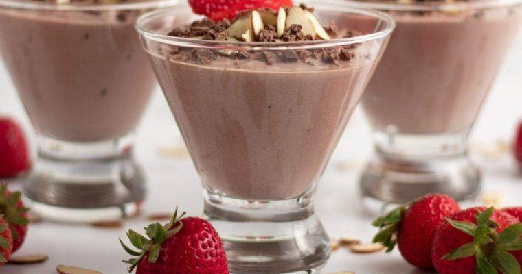 Chocolate Almond Yogurt