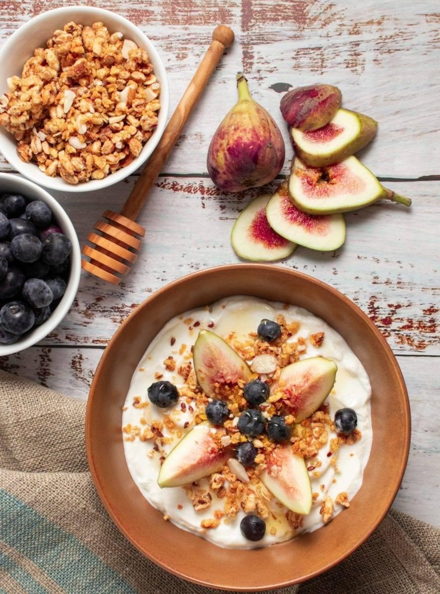 Fig & Honey Yogurt Bowl