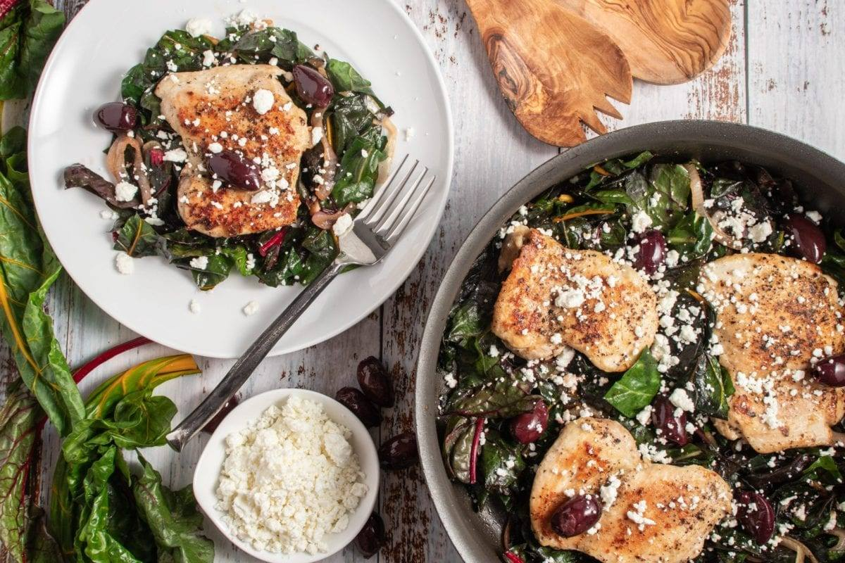 Greek Chicken One Skillet Meal