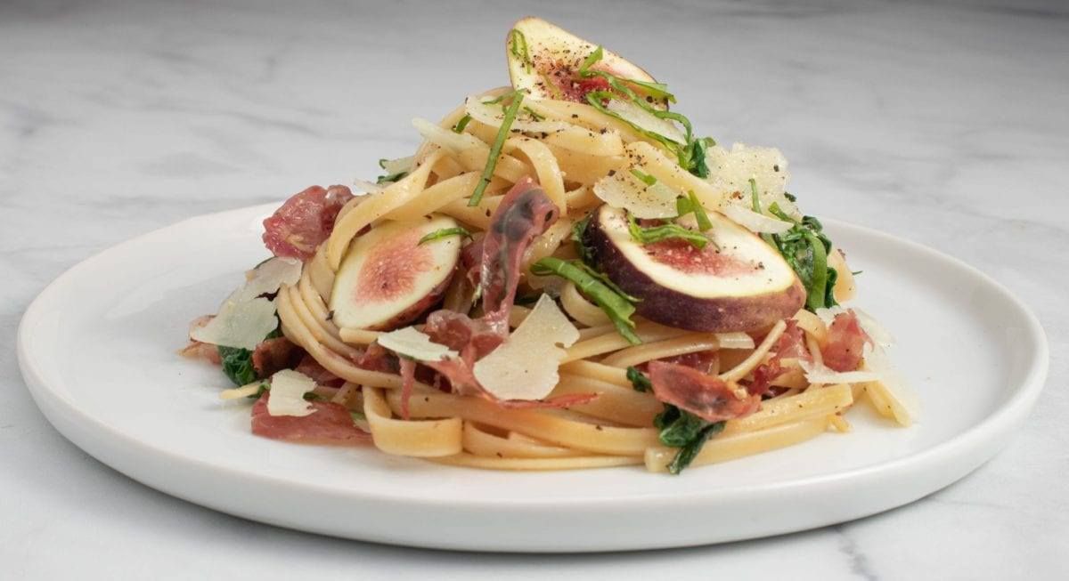 Fig and Prosciutto Pasta Meal Planning Meal Prep Counting Macros