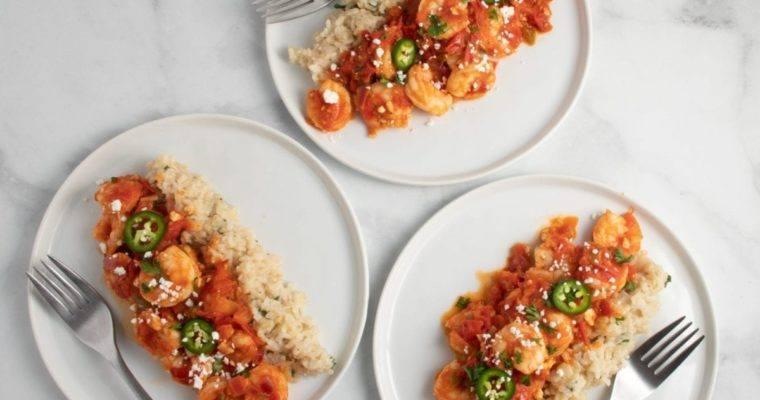 Garlic Shrimp and Tomato Rice recipe, you will love!