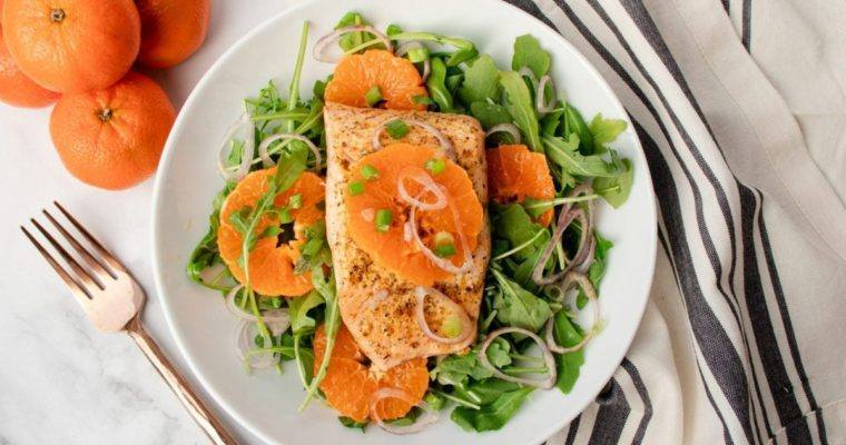 Salmon Citrus Salad