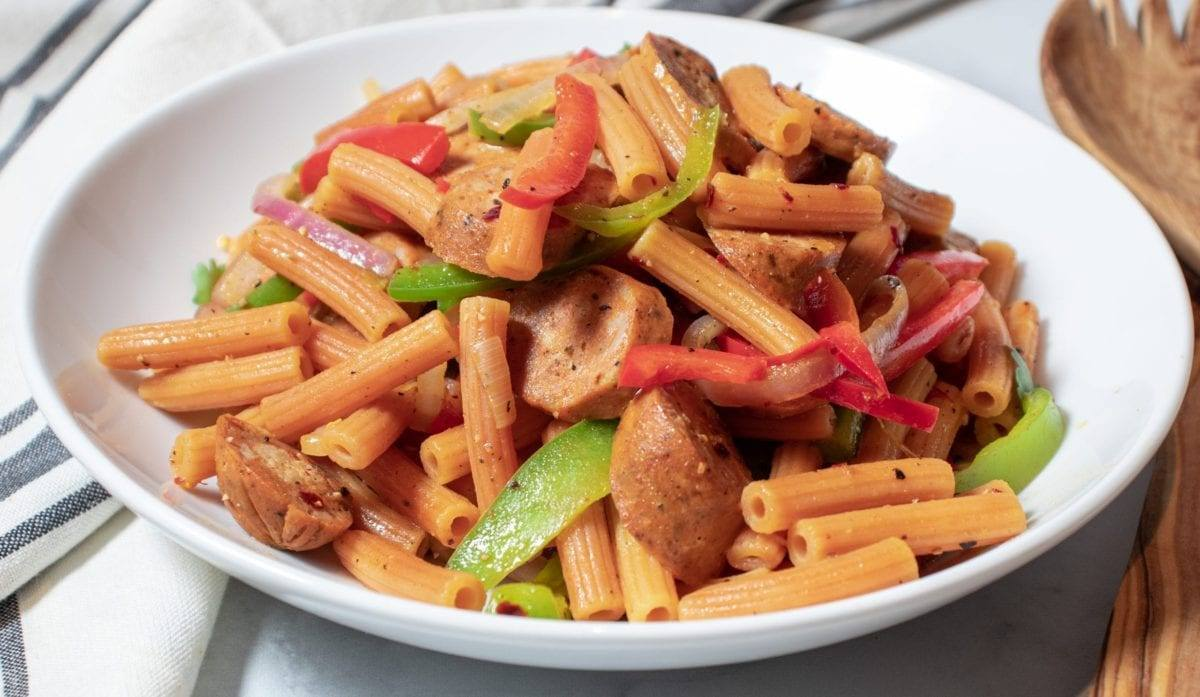 Chicken Sausage Pasta Salad