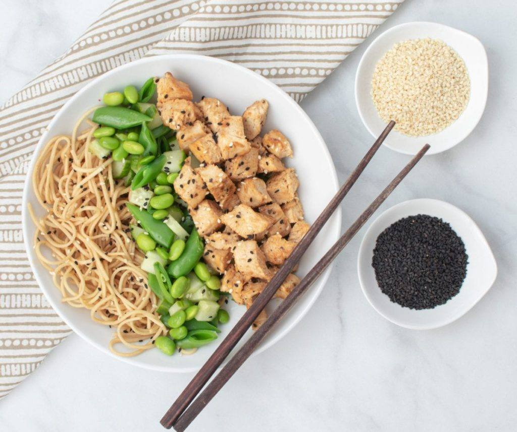 Honey Sesame Chicken And Rice A Dash Of Macros