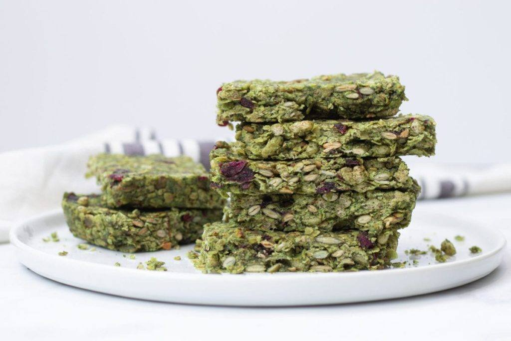 Alkalising Green Pumpkin Seed Granola Bars Meal Prep Planning Counting Macros