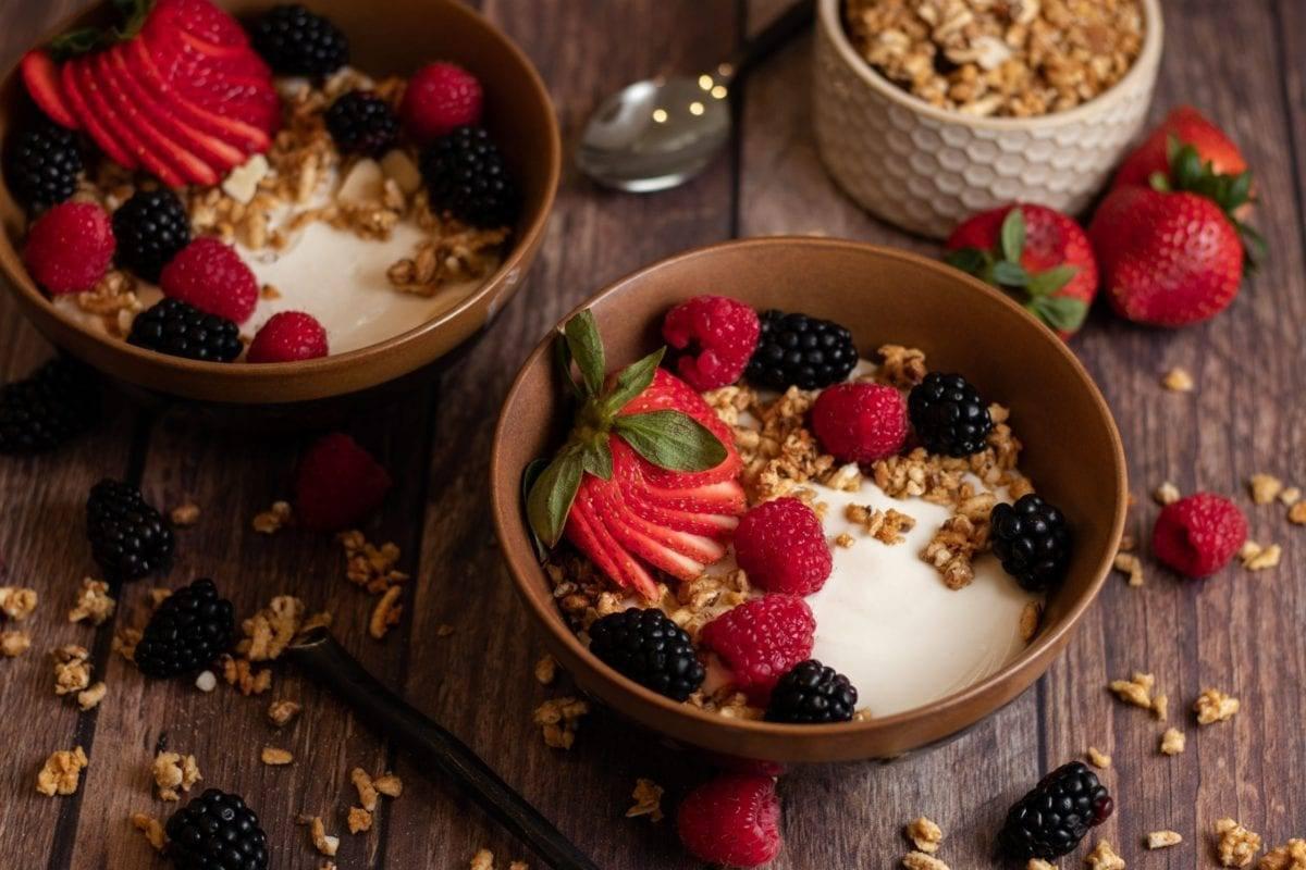 All the Berries Yogurt Bowl