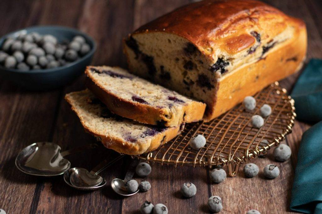 Banana Blueberry Lemon Bread Meal Planning Meal Prep Counting Macros