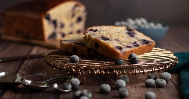Banana Blueberry Lemon Bread