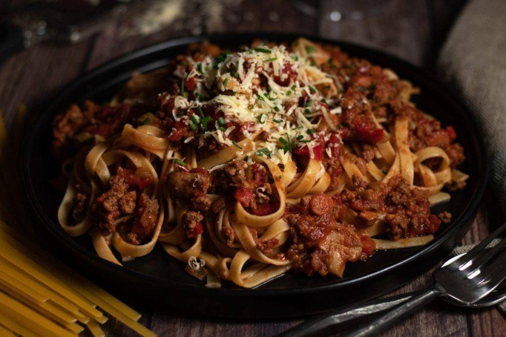 Easy Bolognese Sauce Recipe Meal Planning Meal Prep Counting Macros