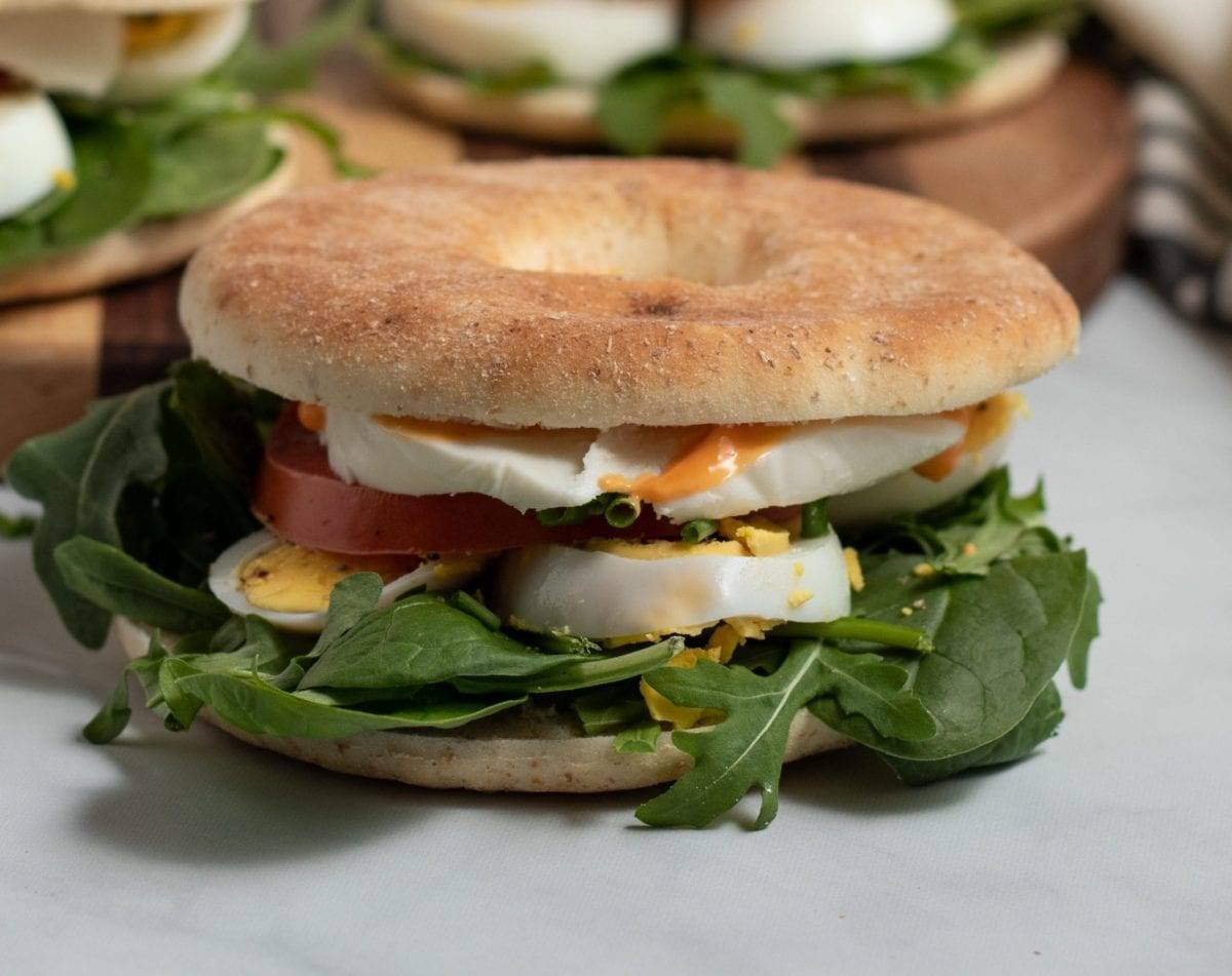 Mozzarella Egg Breakfast Sandwich
