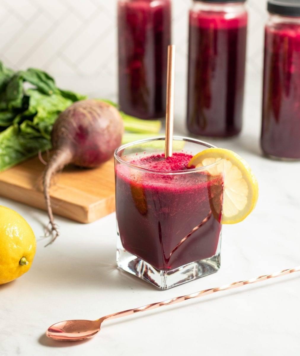 Tangy Beet Apple Juice