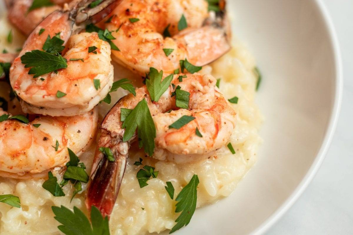 Lemon Risotto and Shrimp Recipe