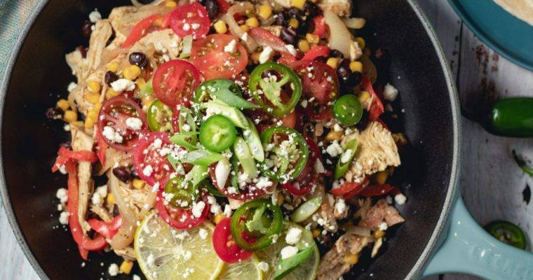 Chicken Burrito Skillet Recipe