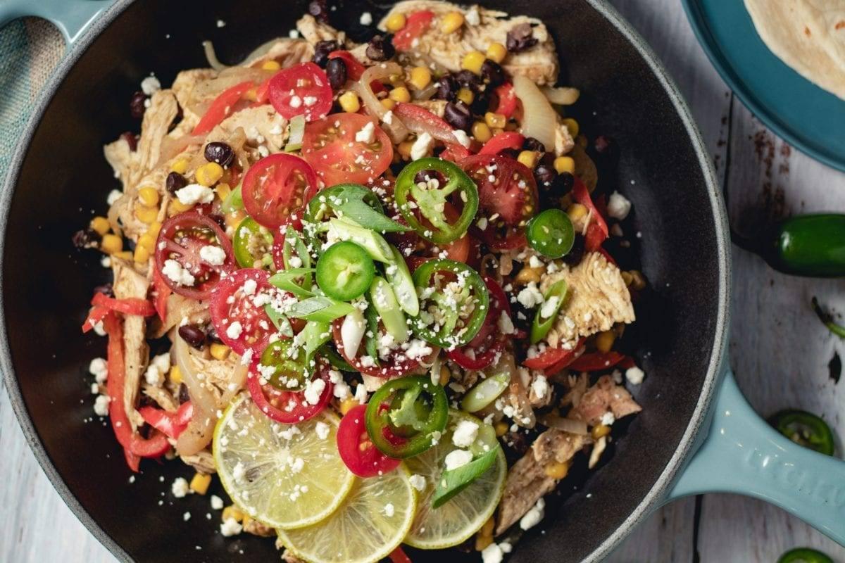 Chicken Burrito Skillet Recipe