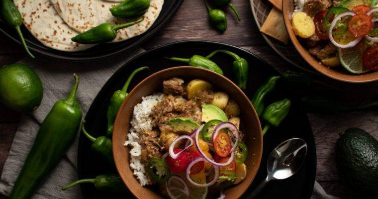 Pork Shoulder Green Chili Stew Meal Prep Meal Planning Counting Macro s Freezer Friendly