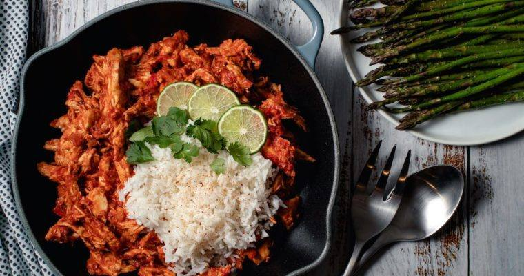 Spiced Tomato & Coconut Chicken w/Basmati Rice