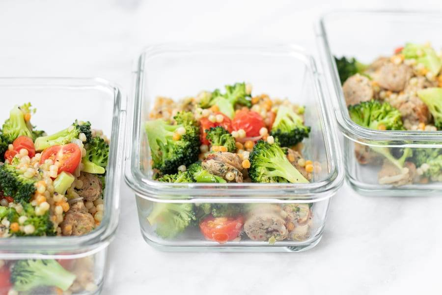 Broccoli Sausage Souccous One Pot Meal Prep