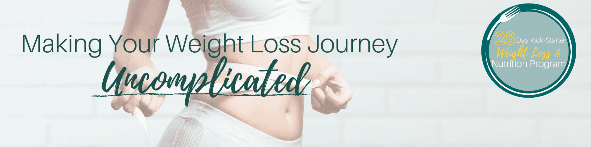 Making Your Weight Loss Journey Uncomplicated