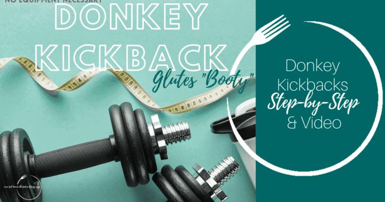 How to do Donkey Kickbacks: Step-By-Step & Video