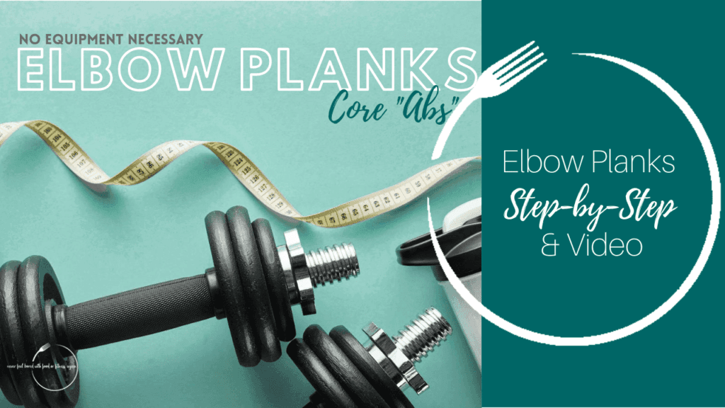Elbow Plank Core Exercise