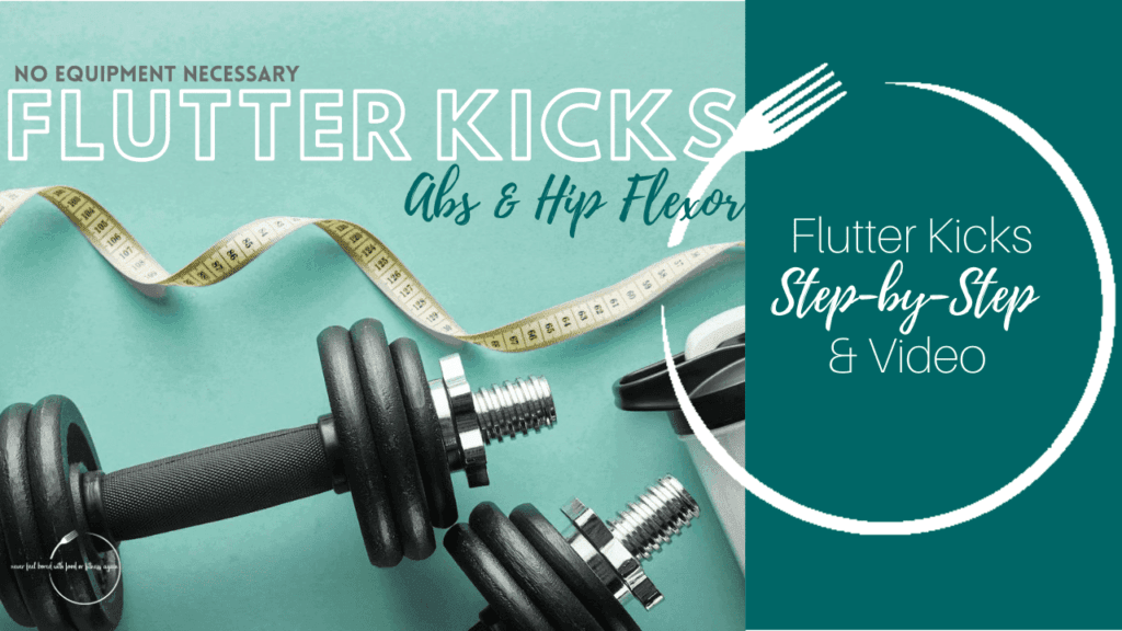 Flutter Kicks Core and Ab Exercise Thumbnail