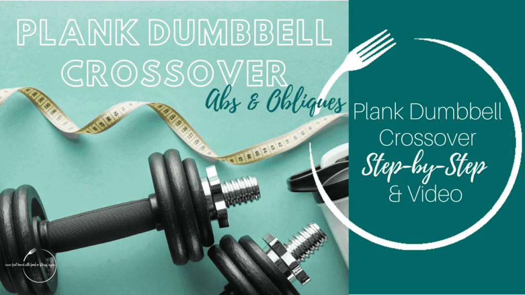 Plank Dumbbell Crossover Core Exercise Thumbnail