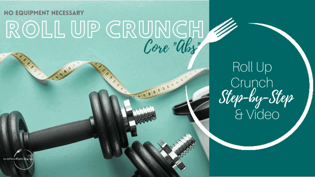 Roll Up Crunch Core Exercise Thumbnail