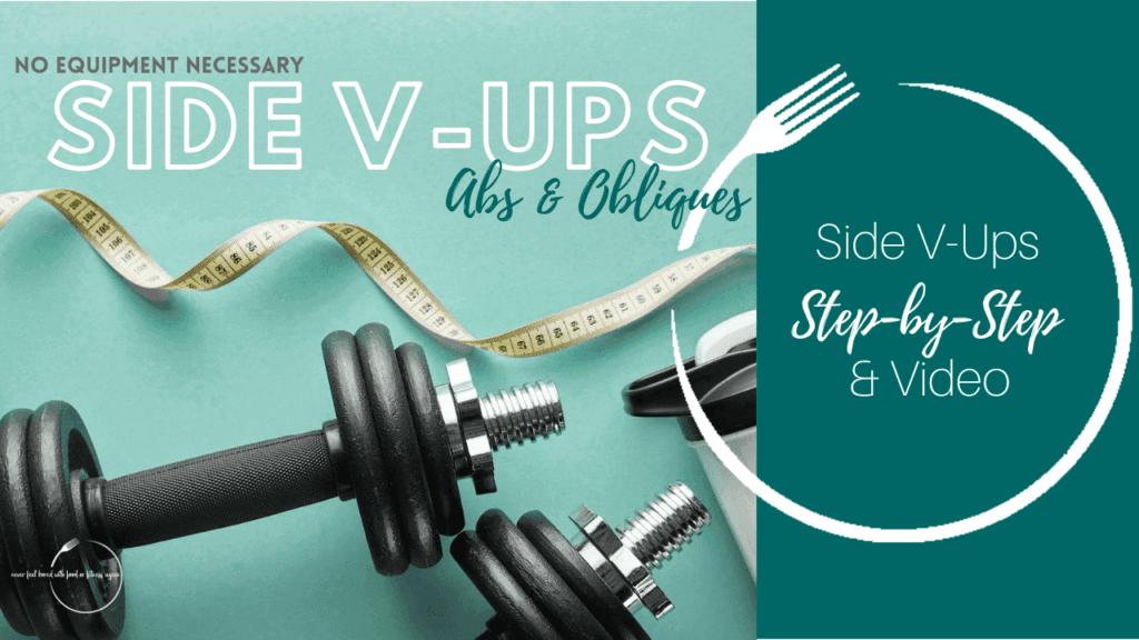 Side V-Ups Core Exercise Thumbnail