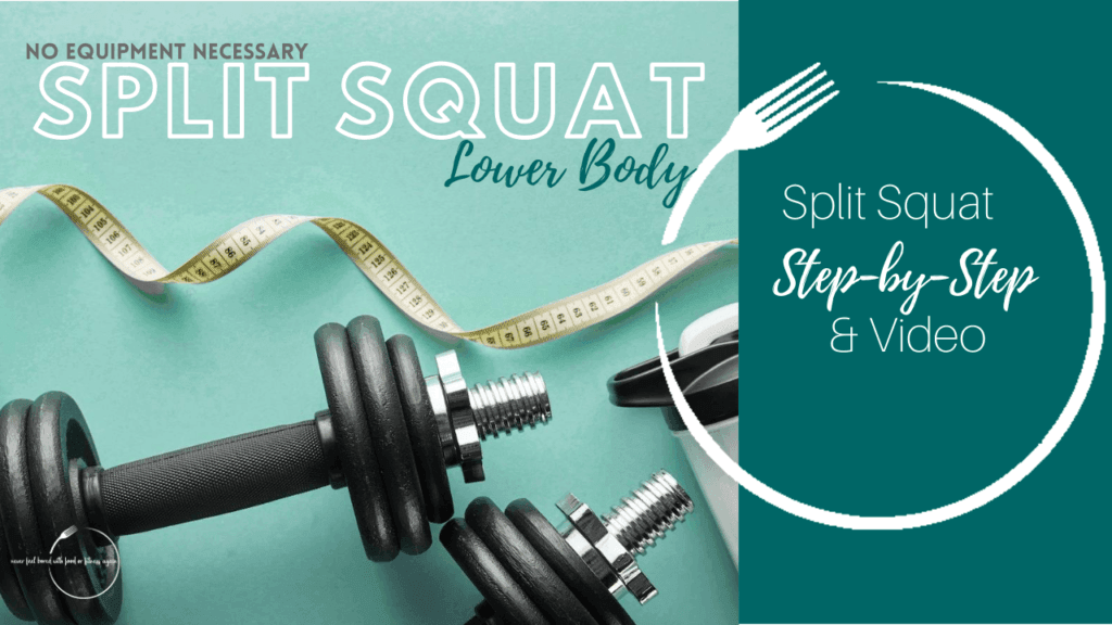 split squat Exercise for weight loss and a healthy Lifestyle