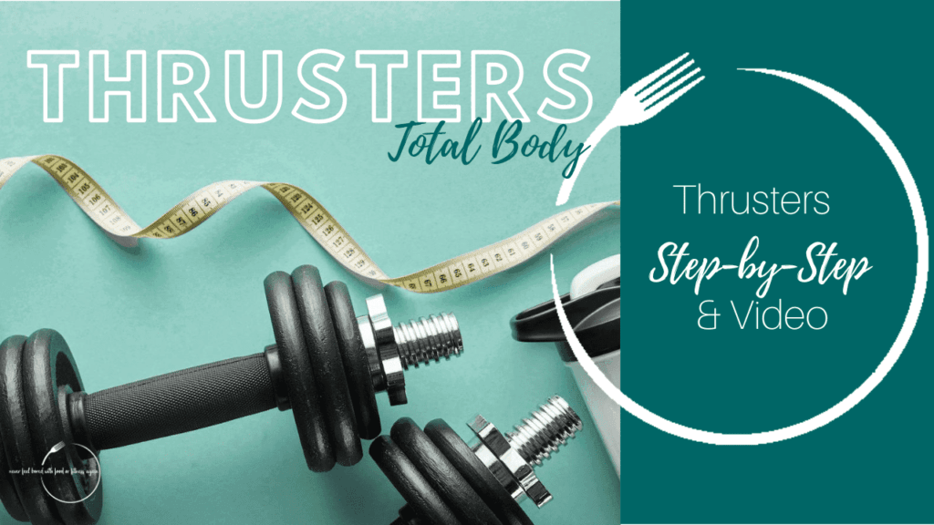 Thrusters a Total Body Exercise to help lose weight Thumbnail