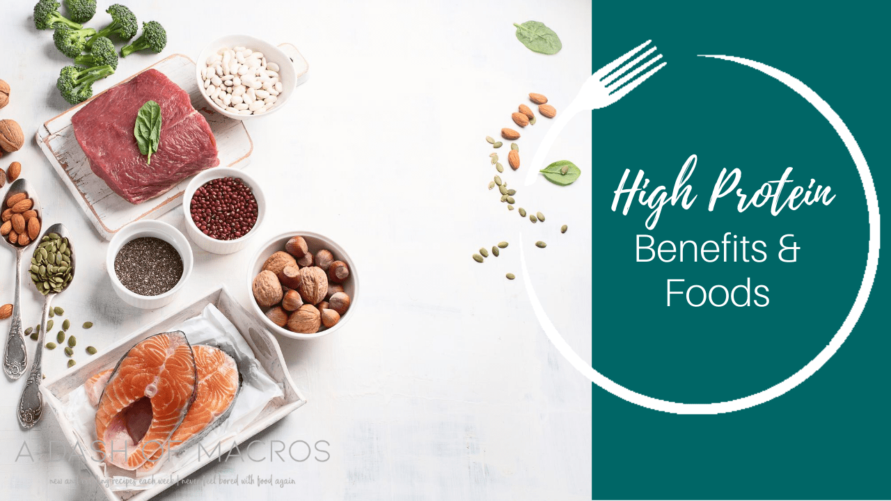Amazing Benefits of Eating a High Protein Diet