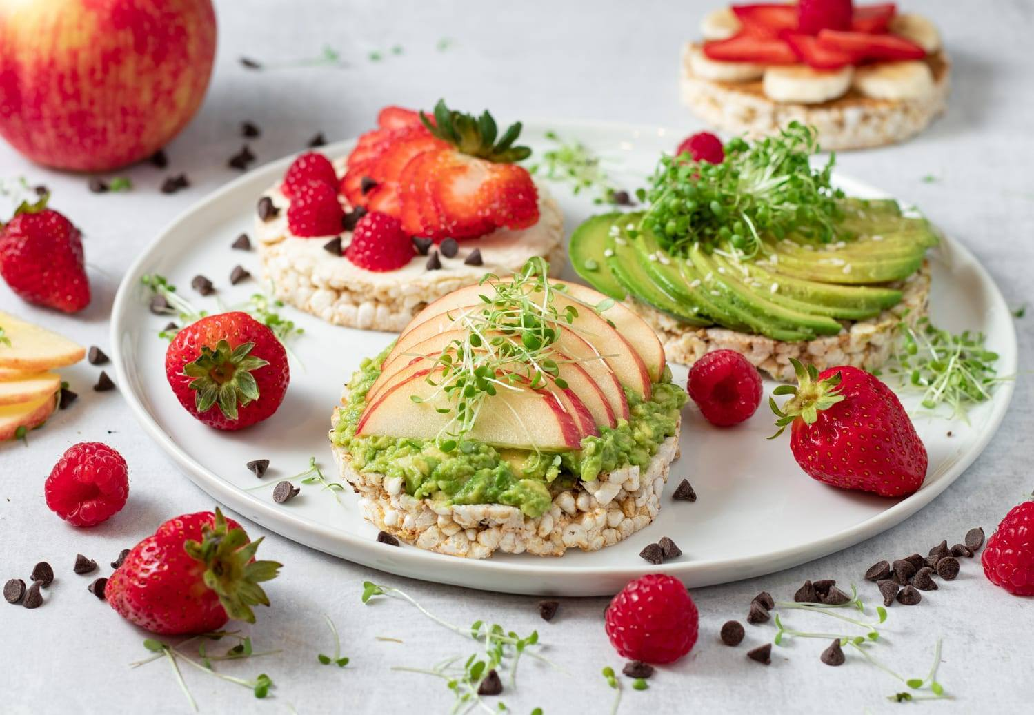 Healthy Rice Cake Toppings, Use your Imagination!