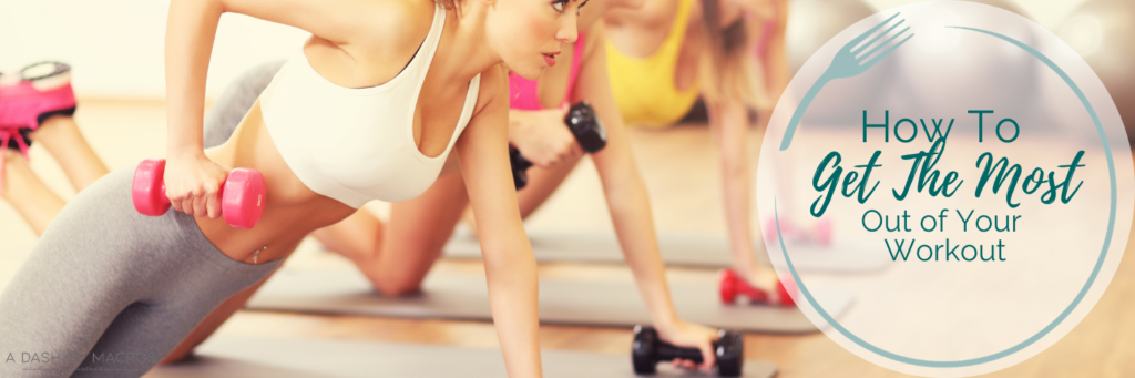 How to get the most out of your workout without doing more!