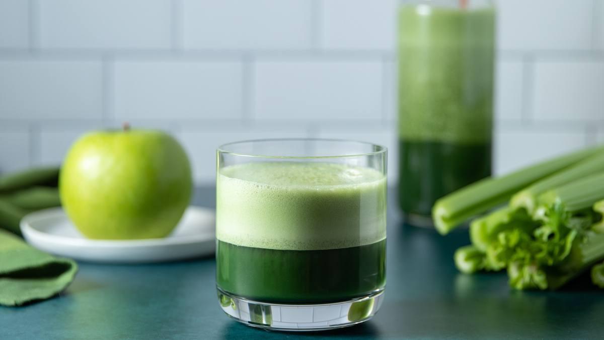 Opti-Greens Apple Protein Juice